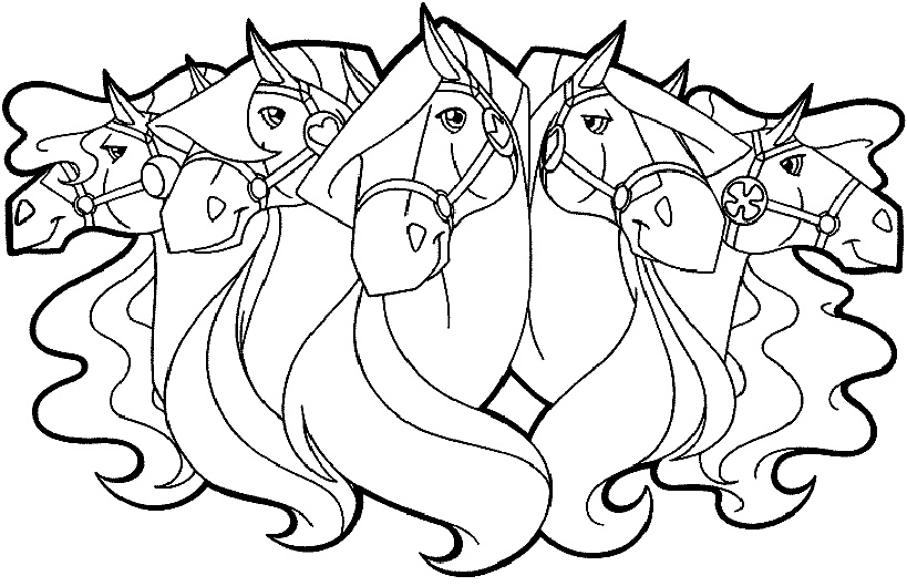 horseland zoey coloring pages - photo#34