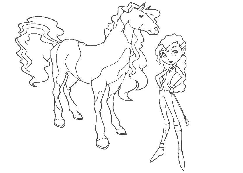 horseland pferde ausmalen 9
