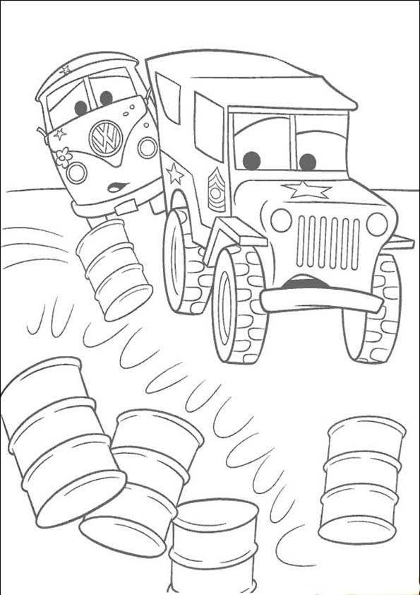 bilder zum malen cars 5
