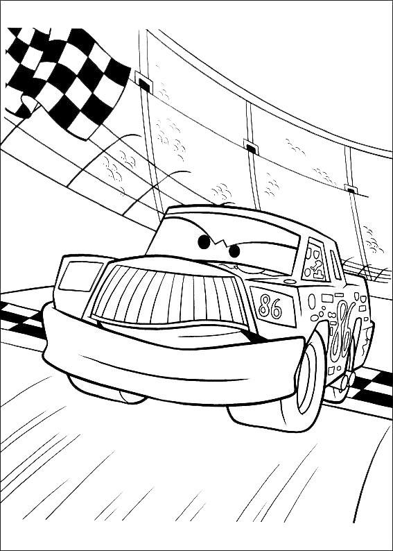 ausmalbilder cars 6