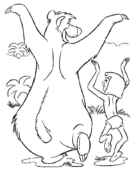 Dschungelbuch: Mogli und Balu