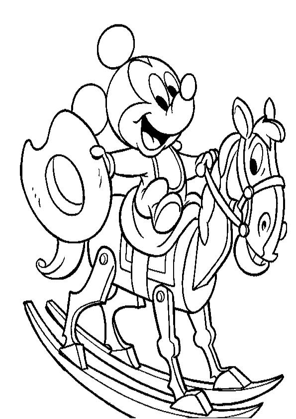 mickey und pferde