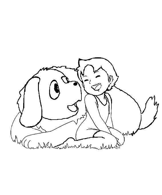 heidi mit hund