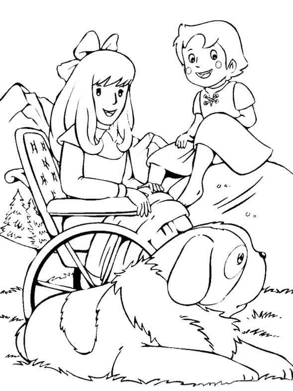 Heidi, Clara und Hund