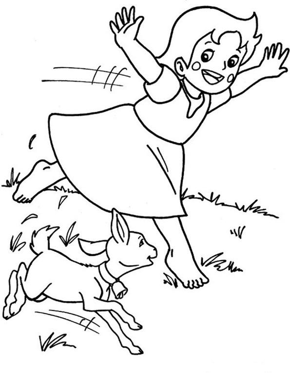 Heidi läuft