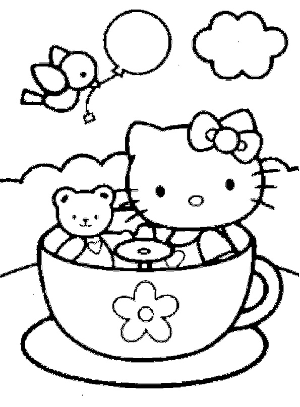 Hello Kitty und Tippy