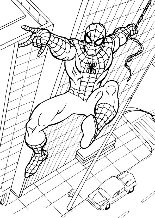 Malvorlagen Spiderman 12 Malvorlagen Kostenlos