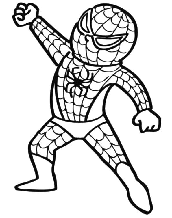 Malvorlagen Spiderman 11 | Malvorlagen Kostenlos