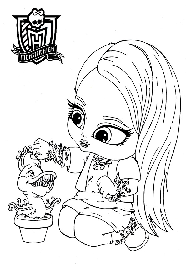 monster high baby venus