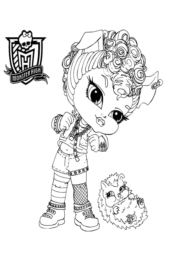 monster high baby howleen