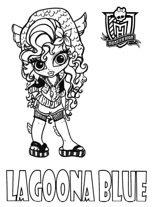 monster high baby lagoona