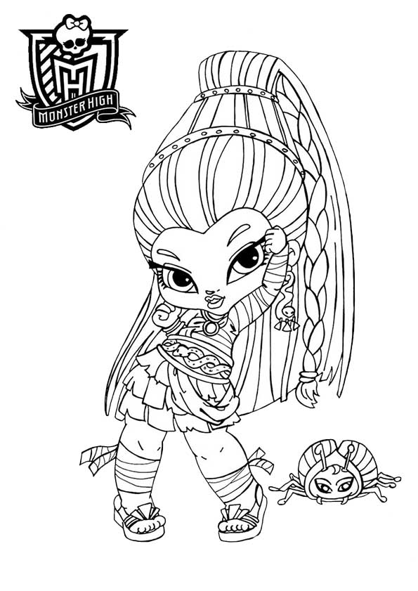 monster high baby nefera de nile