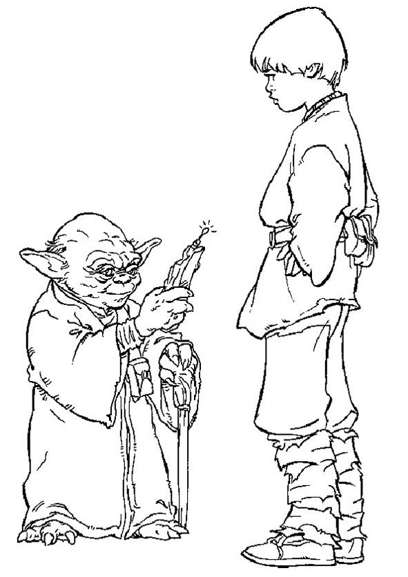 Yoda und Prinz