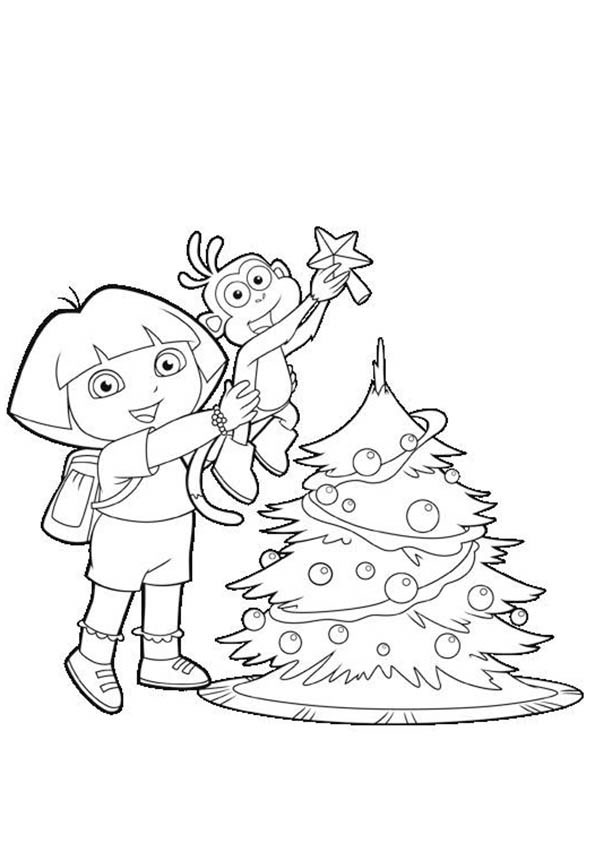 dora und boots weihnachten