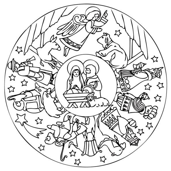 Malvorlagen Gratis Mandala Weihnachten My Blog