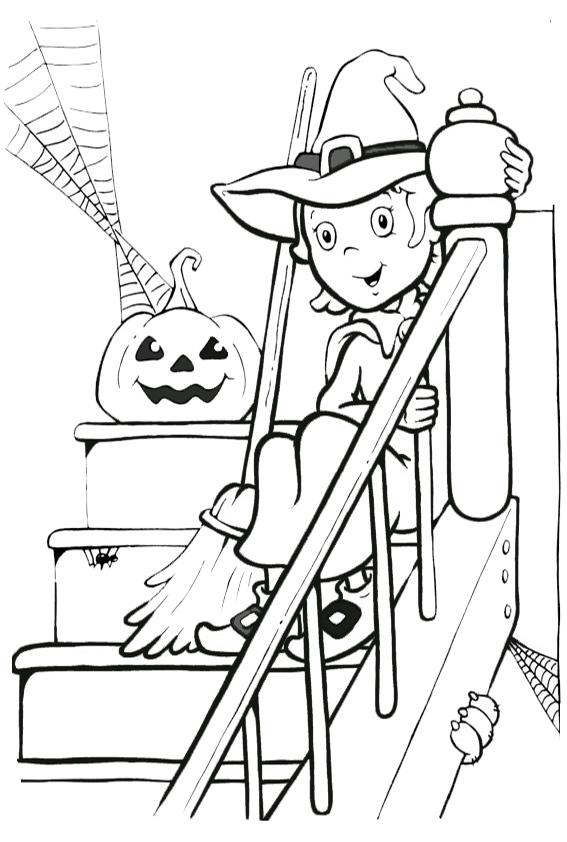 malvorlagen kostenlos halloween-4