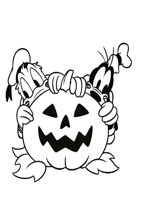 malvorlagen kostenlos halloween-6