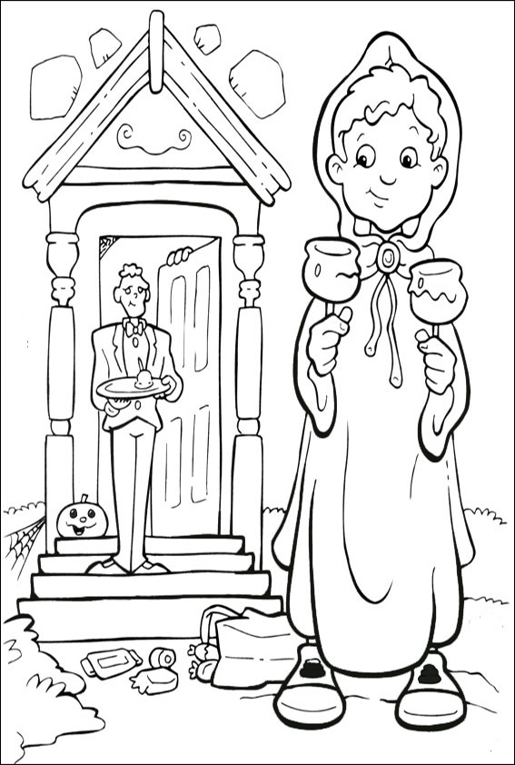 malvorlagen kostenlos halloween-9