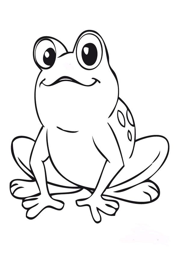 malvorlagen kostenlos frosch -2
