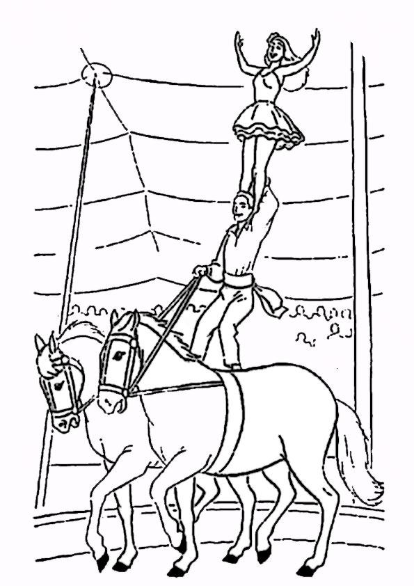 malvorlagen  zirkus-6