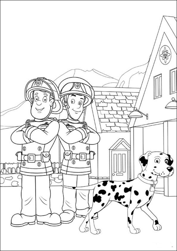 Malvorlagen Kostenlos Feuerwehrmann Sam 4 Malvorlagen