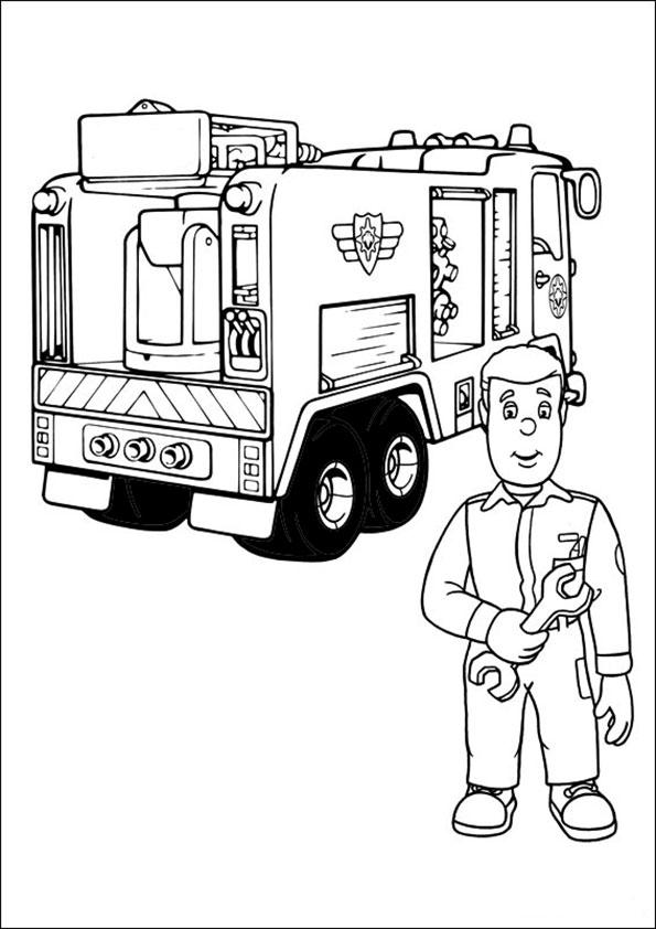Malvorlagen Kostenlos Feuerwehrmann Sam 5 Malvorlagen