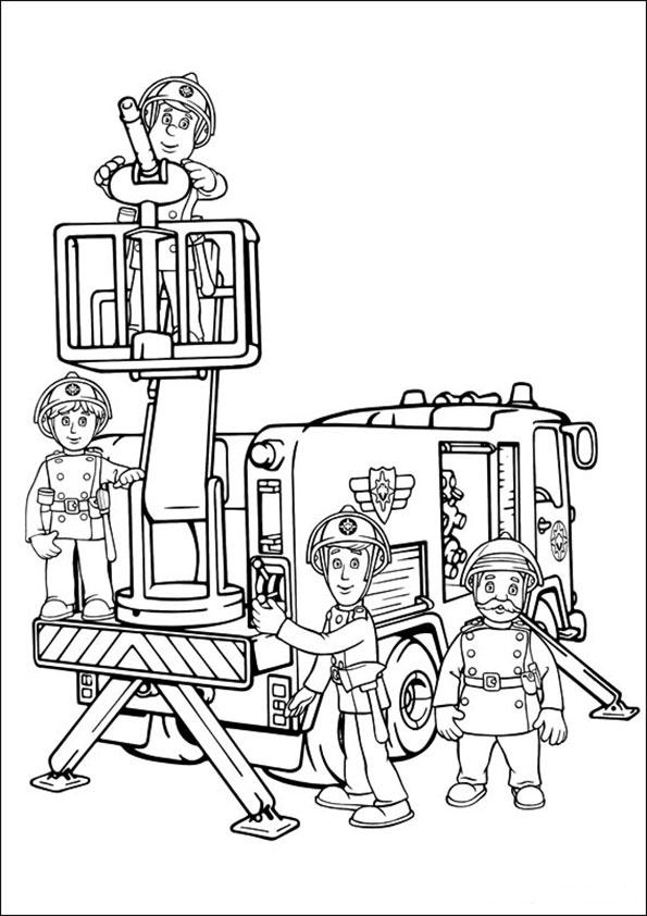 malvorlagen kostenlos feuerwehrmann sam -6
