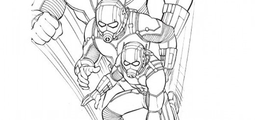 malvorlagen ant- man-6