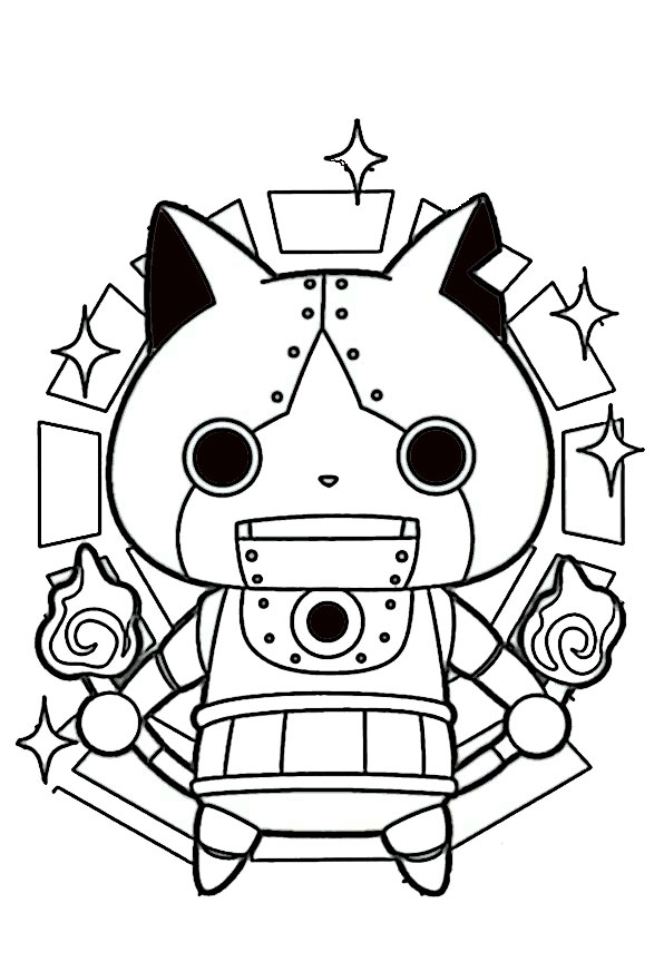 malvorlagen yo kai watch-5
