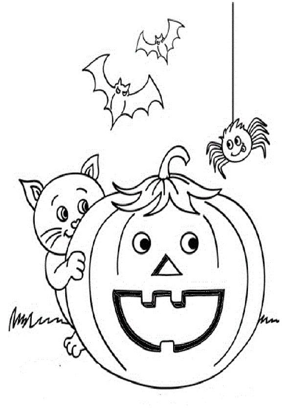 malvorlagen kostenlos halloween-14