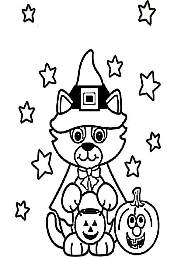 malvorlagen kostenlos halloween-29