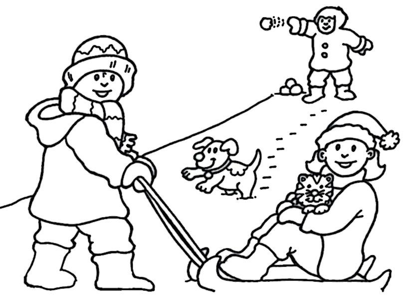 malvorlagen kostenlos winter -3