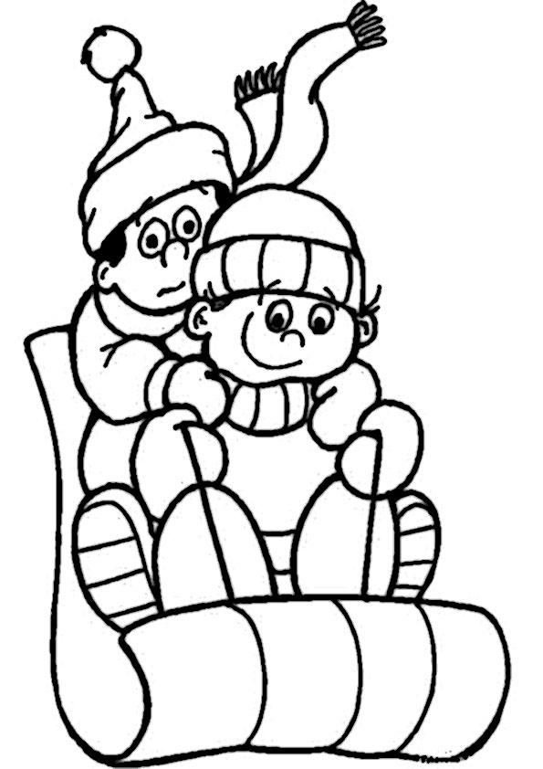 malvorlagen kostenlos winter -5
