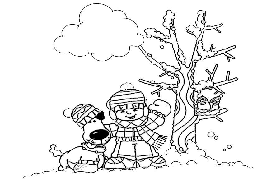 malvorlagen kostenlos winter -10