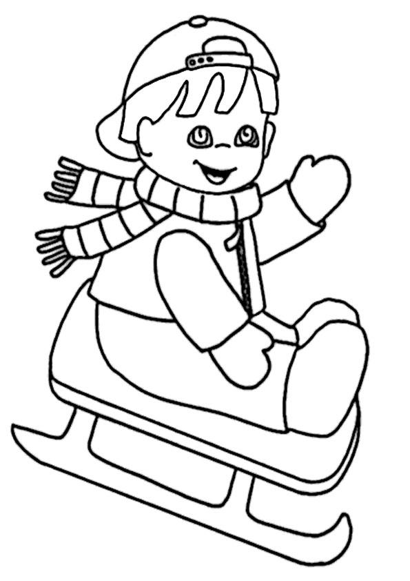 malvorlagen kostenlos winter-4