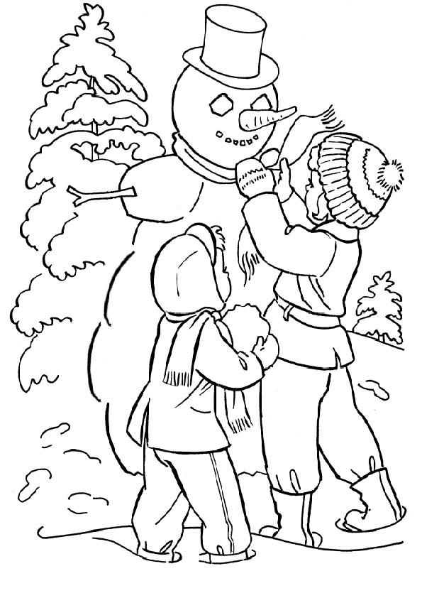 malvorlagen kostenlos winter -8