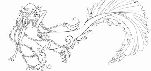 malvorlagen kostenlos meerjungfrauen -12