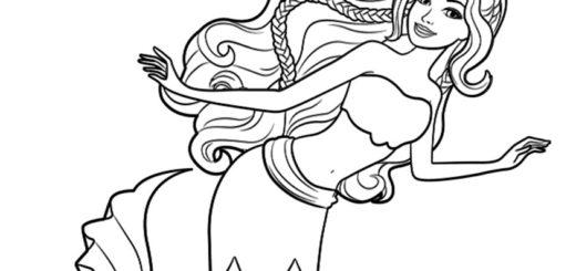 malvorlagen kostenlos meerjungfrauen -13