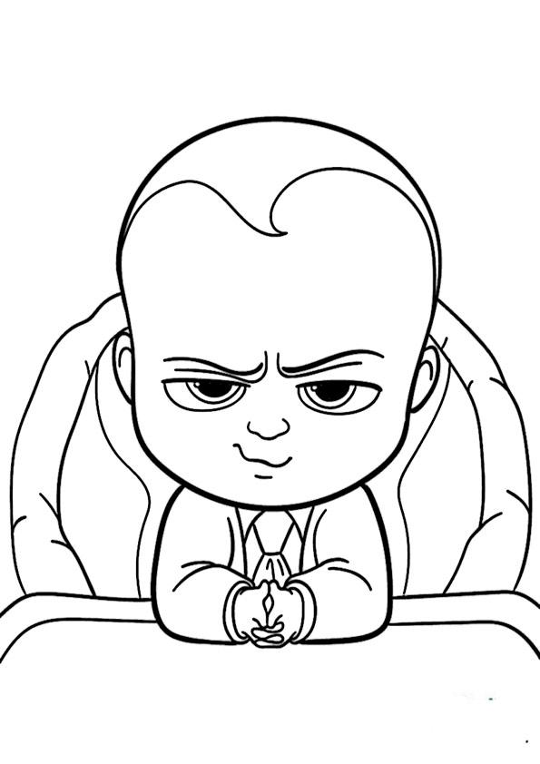 malvorlagen kostenlos the boss baby -13
