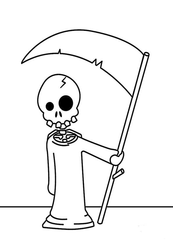 malvorlagen kostenlos halloween- 34