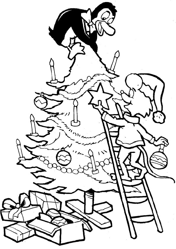 malvorlagen kostenlos  weihnachten-19