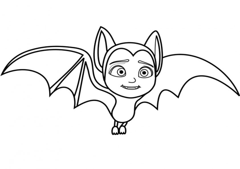 malvorlagen kostenlos vampirina -3
