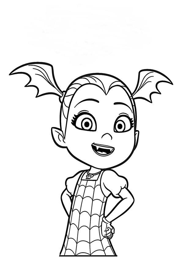 malvorlagen kostenlos vampirina-1