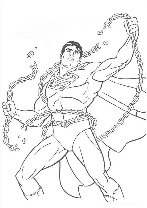 malvorlagen kostenlos  superman -3