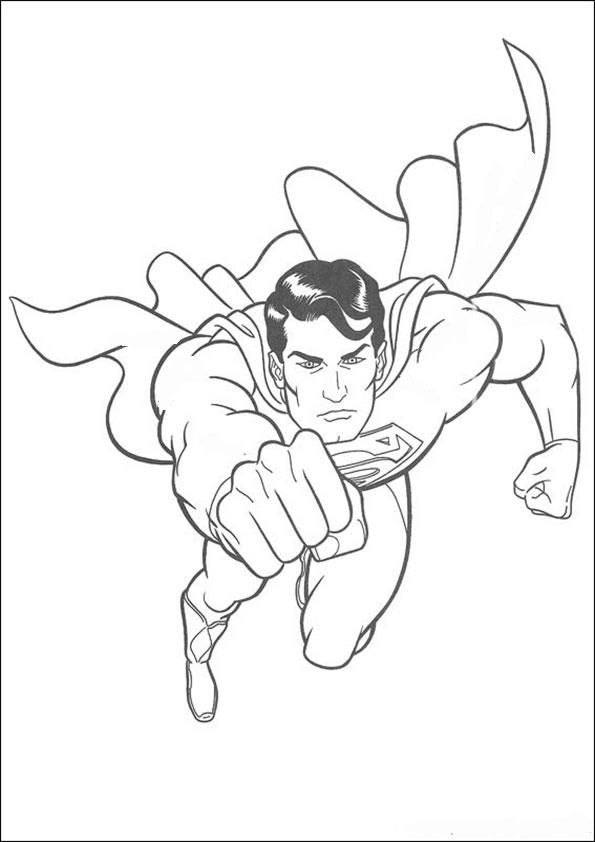 malvorlagen kostenlos superman -1
