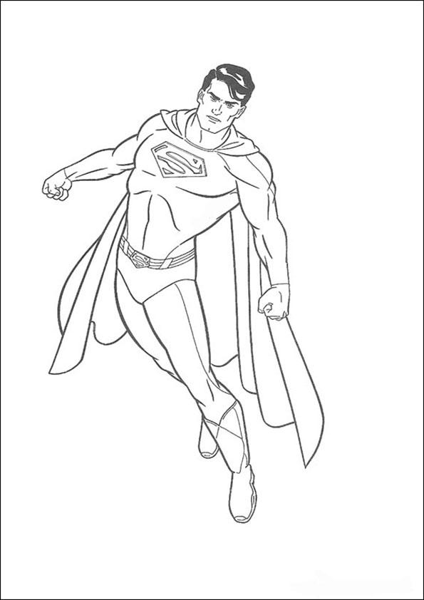 malvorlagen kostenlos superman  -2