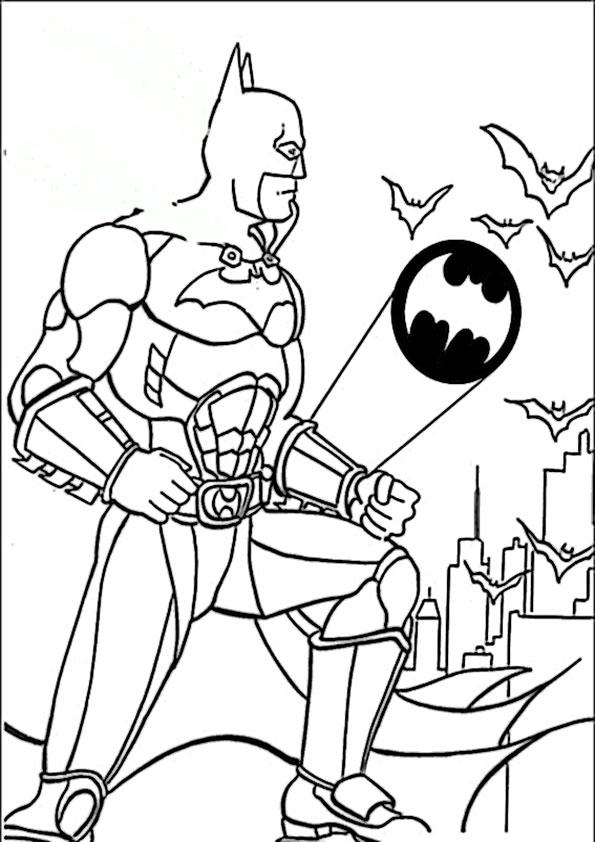 malvorlagen kostenlos batman -1