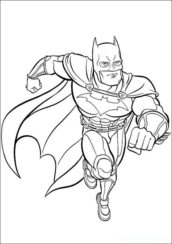malvorlagen kostenlos batman -3