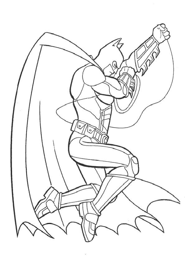 malvorlagen gratis batman -5