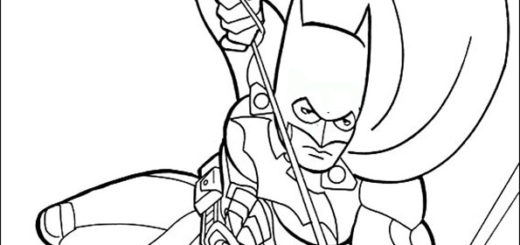malvorlagen kostenlos batman -2